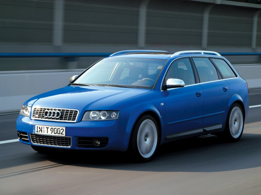 Audi S4 Avant универсал 5-дв., 2003–2004, B6/8H - отзывы, фото и характеристики на Car.ru
