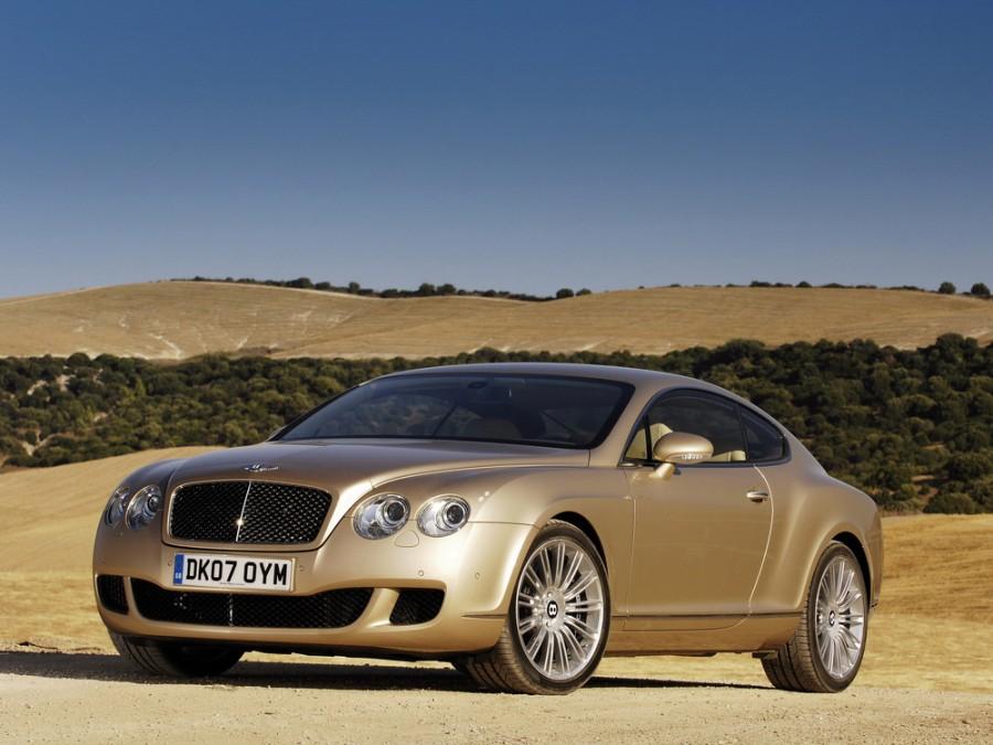 Bentley Continental GT Speed купе 2-дв., 2003–2012, 1 поколение - отзывы, фото и характеристики на Car.ru