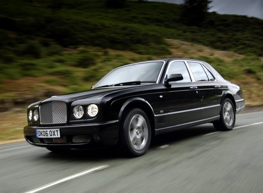 Bentley Arnage RL седан 4-дв., 2002–2009, 2 поколение - отзывы, фото и характеристики на Car.ru