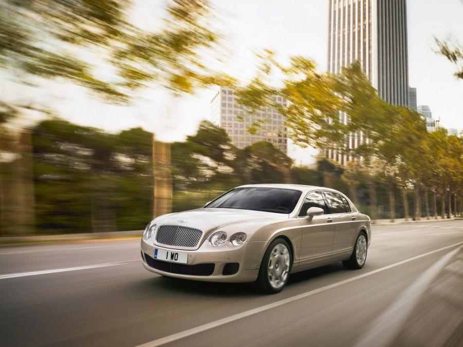 Bentley Continental Flying Spur седан, 2008–2013, 2 поколение [рестайлинг] - отзывы, фото и характеристики на Car.ru