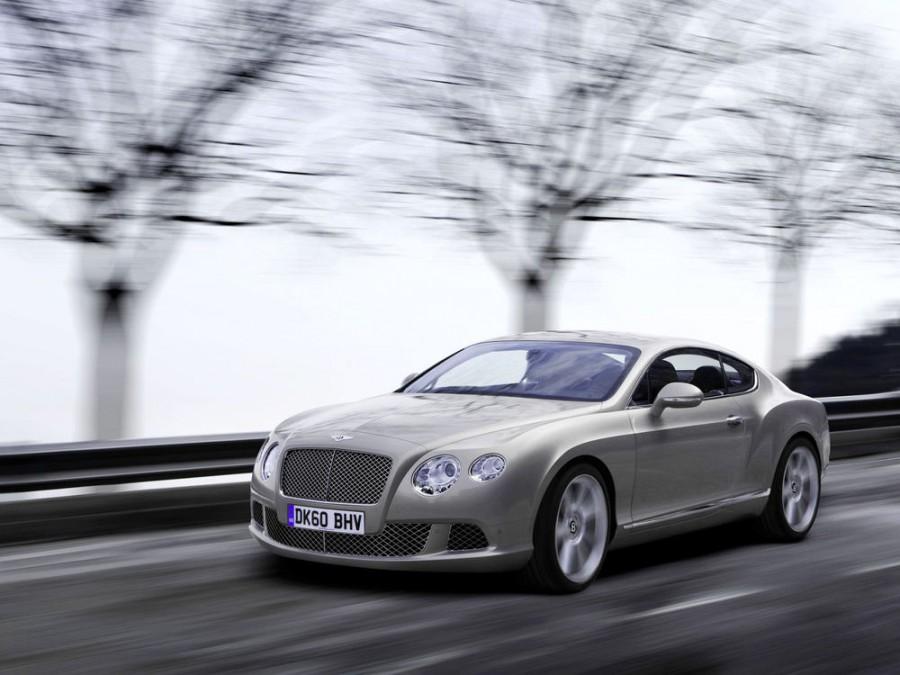 Bentley Continental GT купе 2-дв., 2010–2016, 2 поколение - отзывы, фото и характеристики на Car.ru