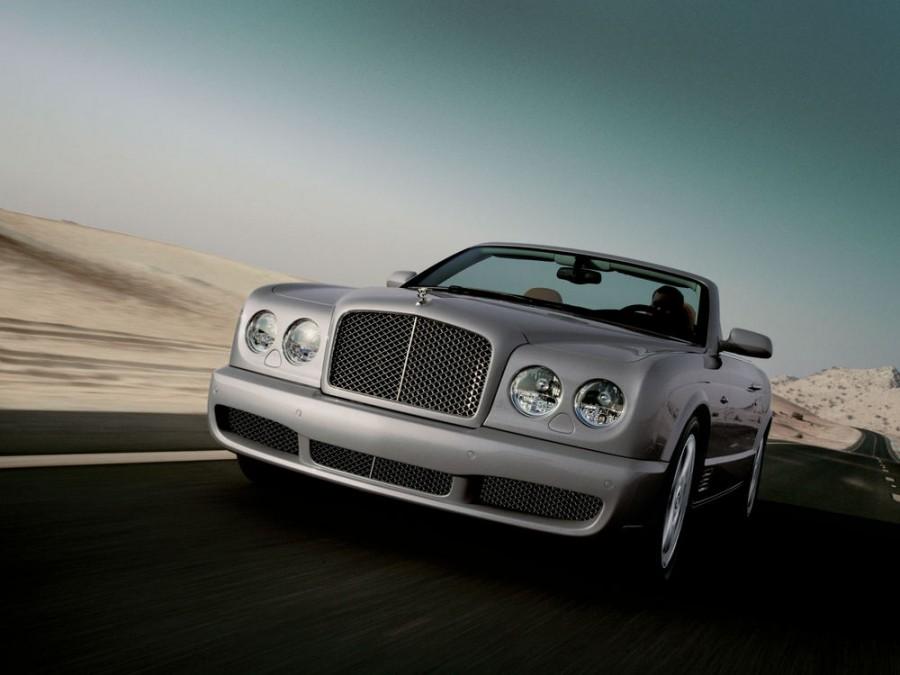 Bentley Azure T кабриолет 2-дв., 2007–2011, 2 поколение - отзывы, фото и характеристики на Car.ru