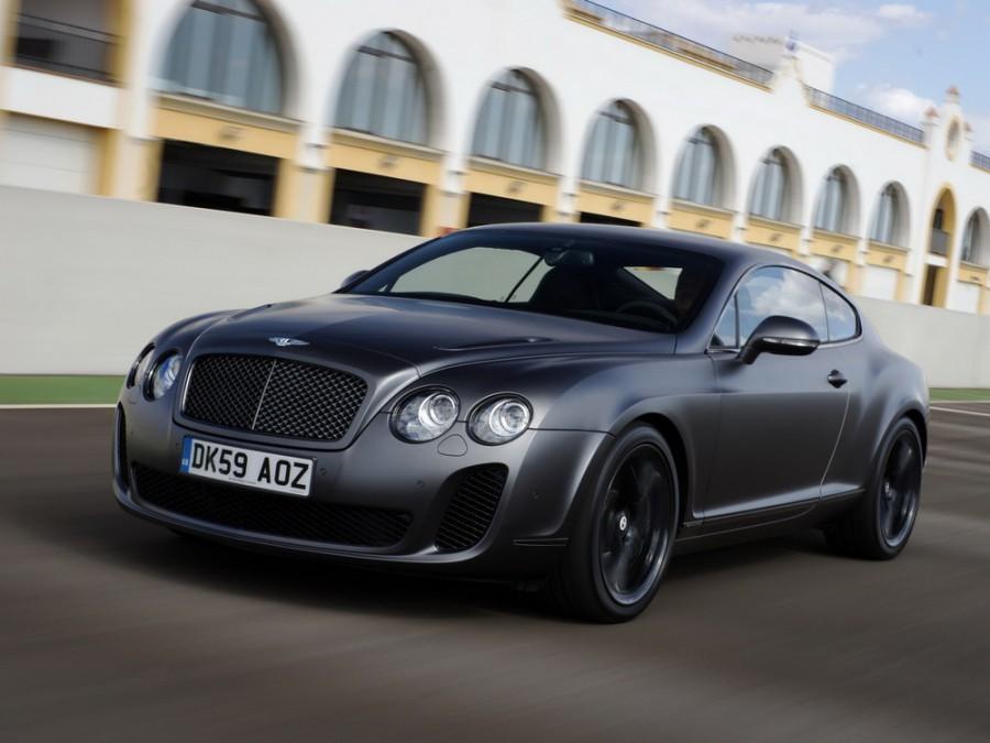 Bentley Continental Supersports купе, 2010–2012, 1 поколение - отзывы, фото и характеристики на Car.ru