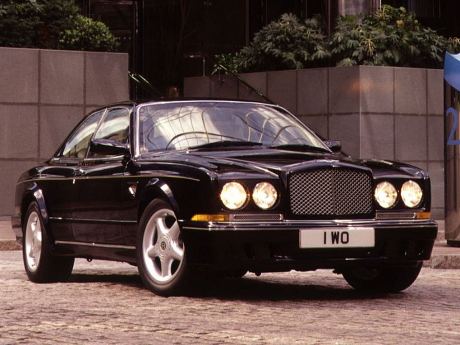 Bentley Continental T купе 2-дв., 1991–2002, 2 поколение - отзывы, фото и характеристики на Car.ru