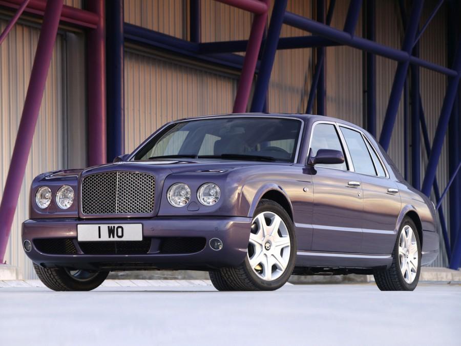 Bentley Arnage T седан 4-дв., 2002–2009, 2 поколение - отзывы, фото и характеристики на Car.ru