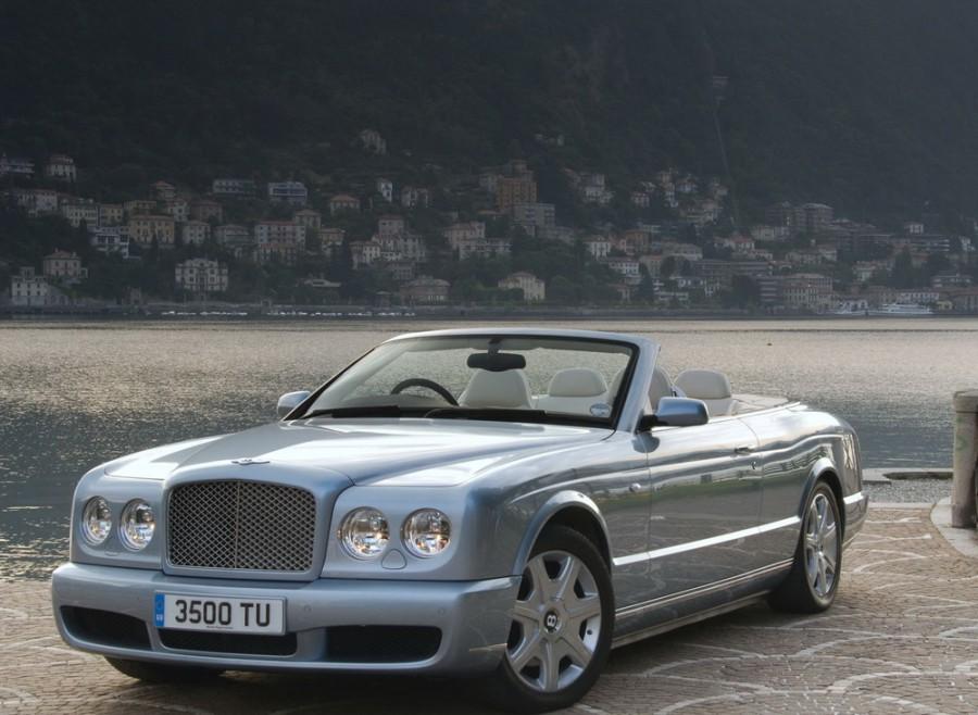 Bentley Azure кабриолет 2-дв., 2007–2011, 2 поколение - отзывы, фото и характеристики на Car.ru