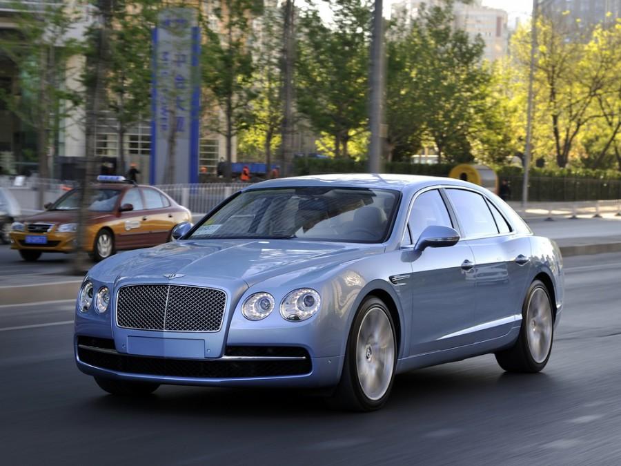 Bentley Flying Spur седан, 2013–2016, 1 поколение - отзывы, фото и характеристики на Car.ru