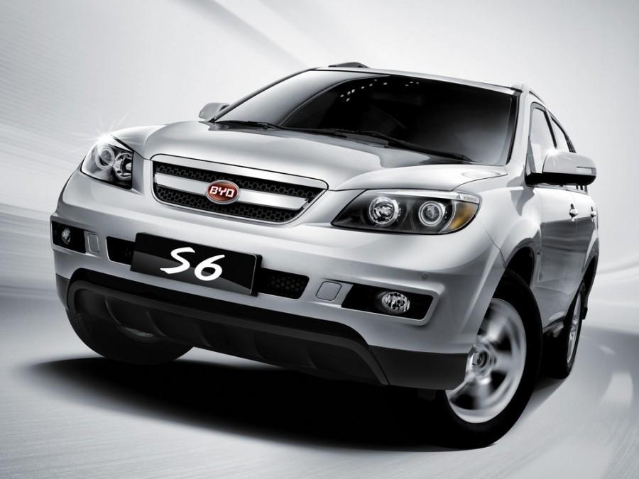 Byd S6 кроссовер, 2010–2014, 1 поколение - отзывы, фото и характеристики на Car.ru