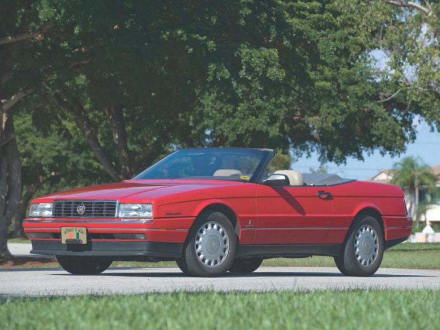 Cadillac Allante кабриолет, 1989–1996, 1 поколение - отзывы, фото и характеристики на Car.ru