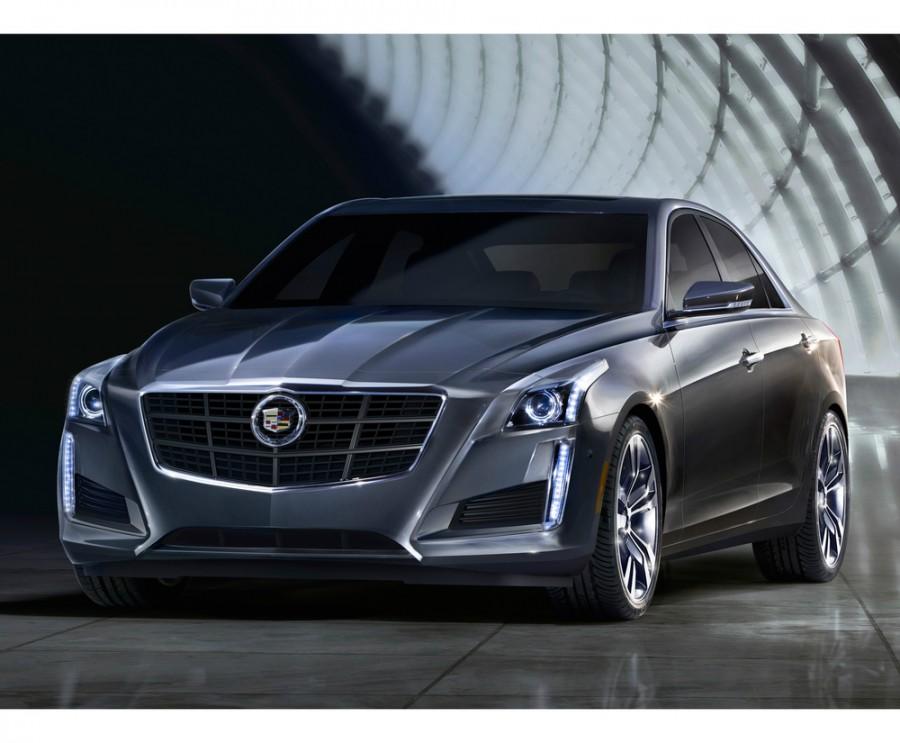 Cadillac CTS седан, 2013–2016, 3 поколение - отзывы, фото и характеристики на Car.ru