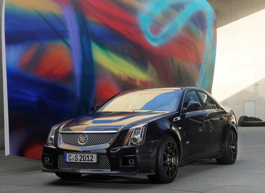 Cadillac CTS CTS-V седан 4-дв., 2007–2014, 2 поколение - отзывы, фото и характеристики на Car.ru