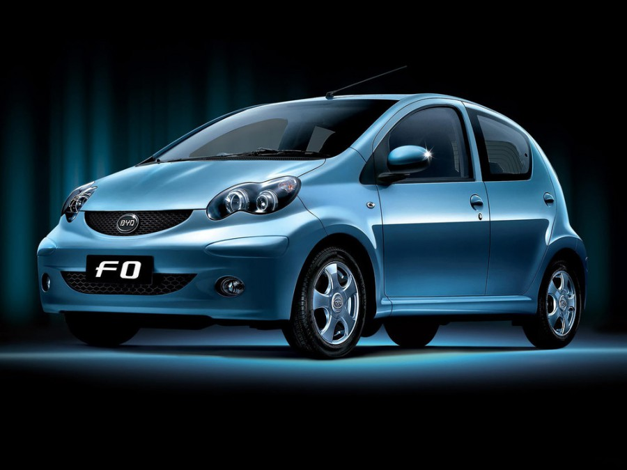 Byd F0 хетчбэк, 2008–2011, 1 поколение - отзывы, фото и характеристики на Car.ru