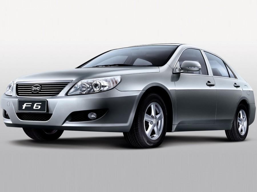 Byd F6 седан, 2007–2010, 1 поколение - отзывы, фото и характеристики на Car.ru