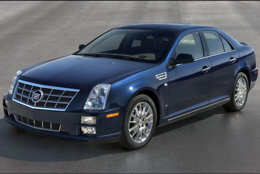 Cadillac STS седан, 2008–2016, 1 поколение [рестайлинг] - отзывы, фото и характеристики на Car.ru
