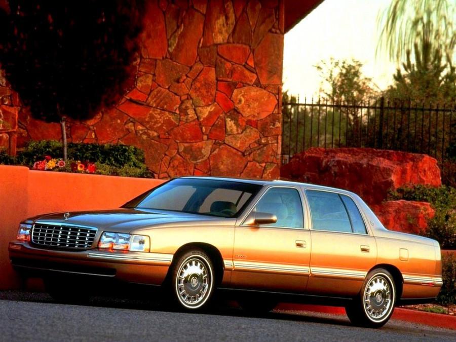 Cadillac De Ville седан, 1994–1999, 10 поколение - отзывы, фото и характеристики на Car.ru