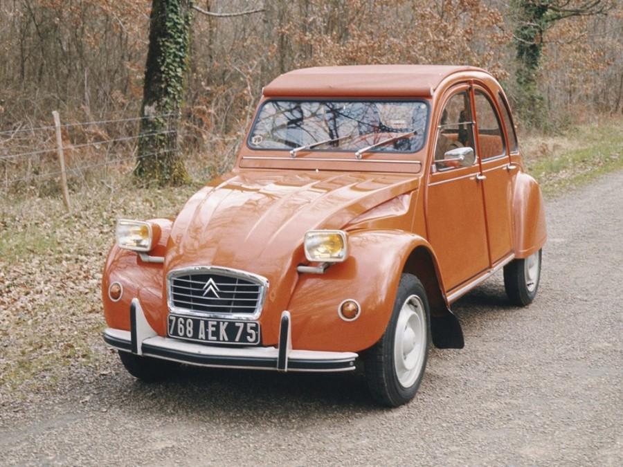 Citroen 2CV кабриолет, 1975–1979, 4 поколение - отзывы, фото и характеристики на Car.ru