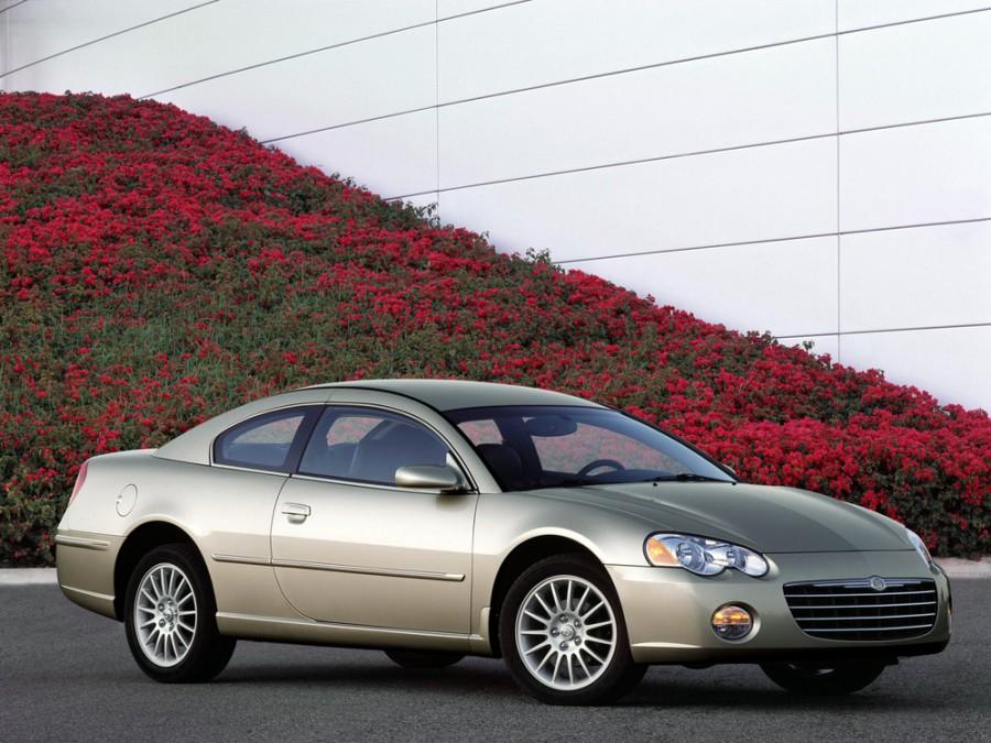 Chrysler Sebring купе, 2001–2006, 2 поколение - отзывы, фото и характеристики на Car.ru