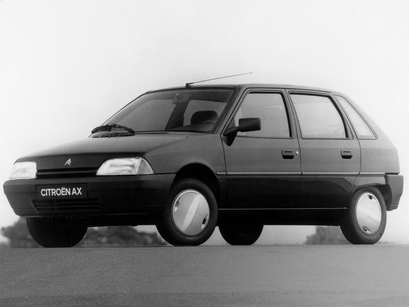 Citroen AX хетчбэк 5-дв., 2 поколение - отзывы, фото и характеристики на Car.ru