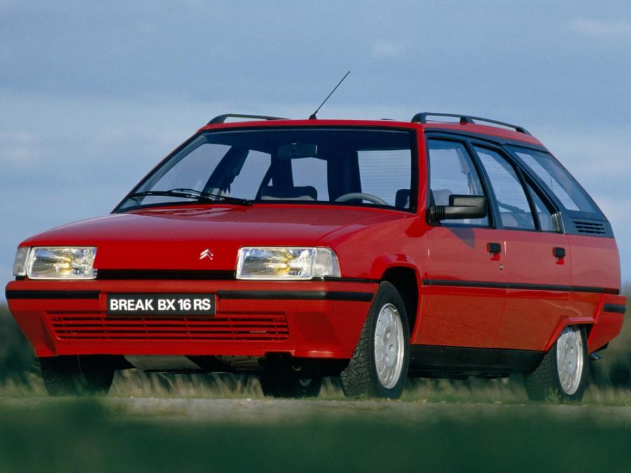 Citroen BX Break универсал, 1982–1994, 1 поколение - отзывы, фото и характеристики на Car.ru