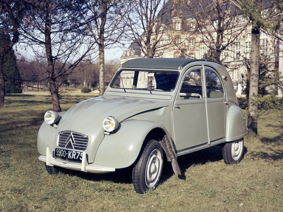 Citroen 2CV кабриолет, 1960–1966, 2 поколение - отзывы, фото и характеристики на Car.ru