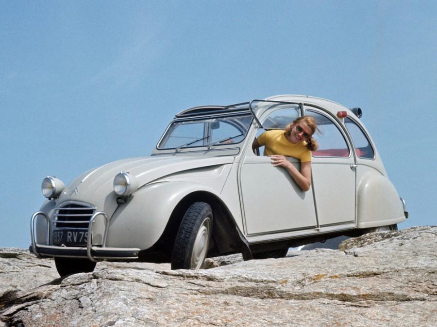 Citroen 2CV кабриолет, 1966–1975, 3 поколение - отзывы, фото и характеристики на Car.ru