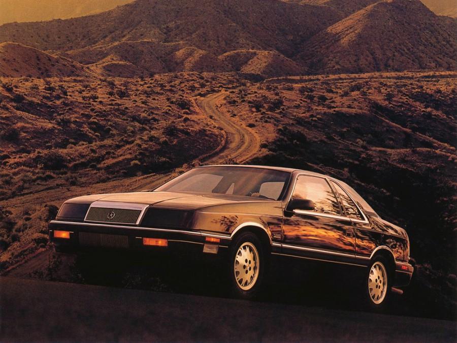 Chrysler Le Baron купе, 1986–1996, 3 поколение - отзывы, фото и характеристики на Car.ru