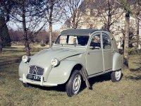 Citroen 2CV, 2 поколение, Кабриолет, 1960–1966