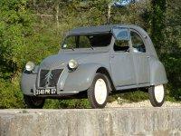 Citroen 2CV, 1 поколение, Кабриолет, 1949–1960