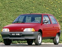 Citroen AX, 1 поколение, Хетчбэк, 1986–1998