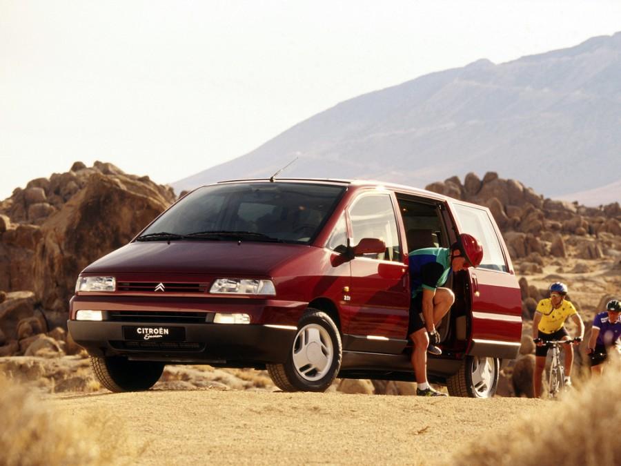 Citroen Evasion минивэн, 1994–1997, 1 поколение - отзывы, фото и характеристики на Car.ru
