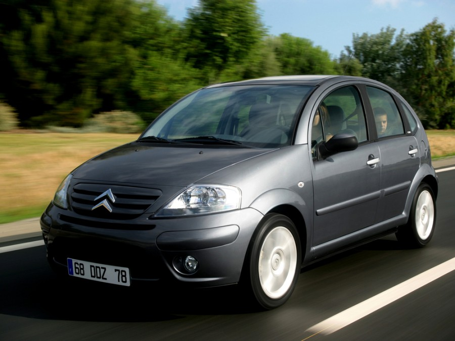 Citroen C3 хетчбэк, 2002–2010, 1 поколение - отзывы, фото и характеристики на Car.ru