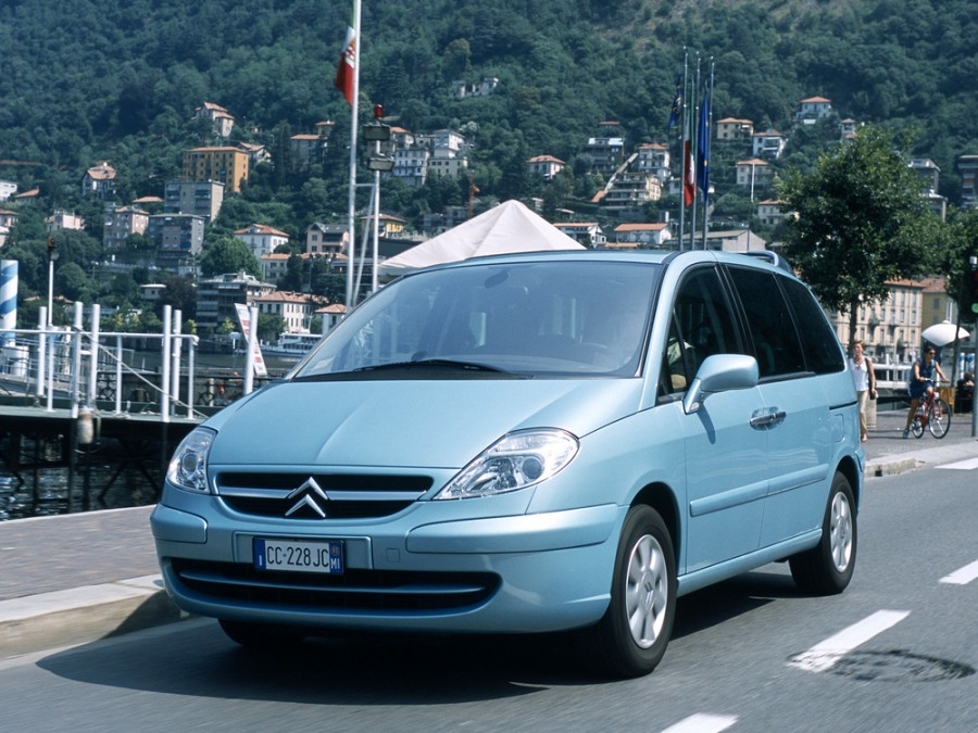 Citroen C8 минивэн, 2002–2012, 1 поколение - отзывы, фото и характеристики на Car.ru