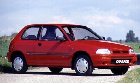 Daihatsu Charade хетчбэк, 1993–1996, 4 поколение - отзывы, фото и характеристики на Car.ru