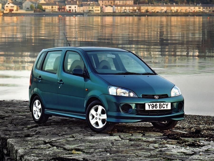 Daihatsu YRV минивэн, 2000–2005, 1 поколение - отзывы, фото и характеристики на Car.ru