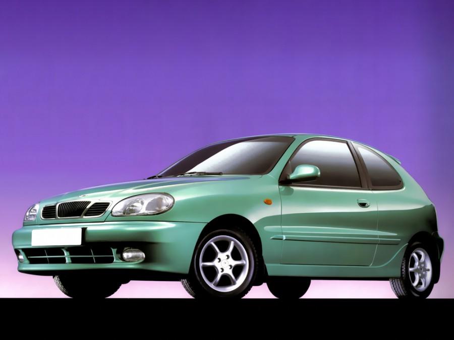 Daewoo Lanos хетчбэк 3-дв., 2000–2003, T150 [рестайлинг] - отзывы, фото и характеристики на Car.ru