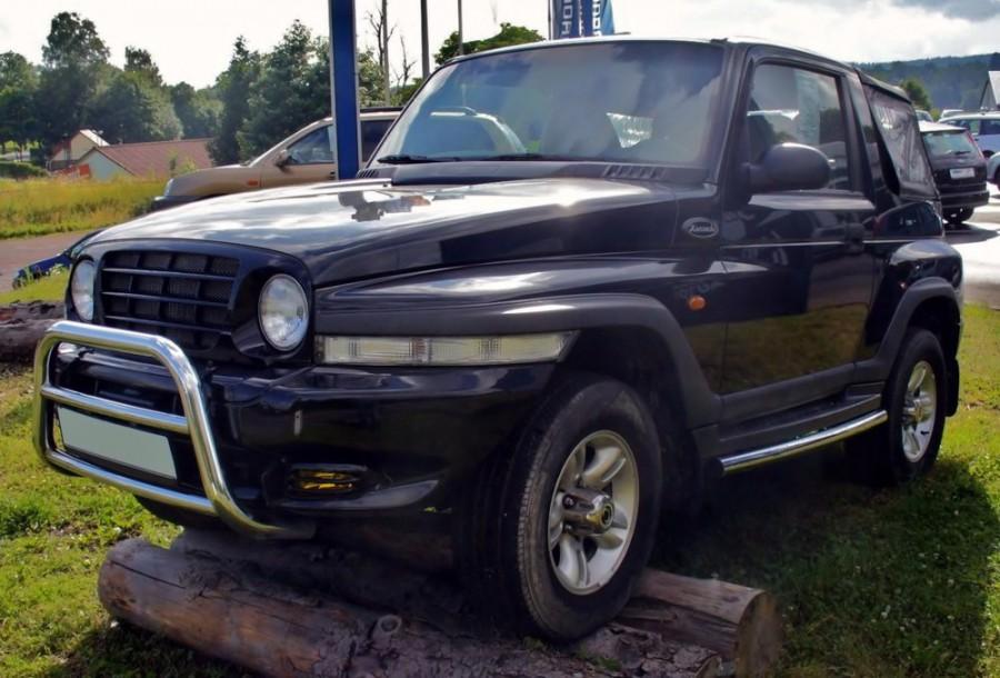 Daewoo Korando кабриолет, 1999–2001, KJ - отзывы, фото и характеристики на Car.ru