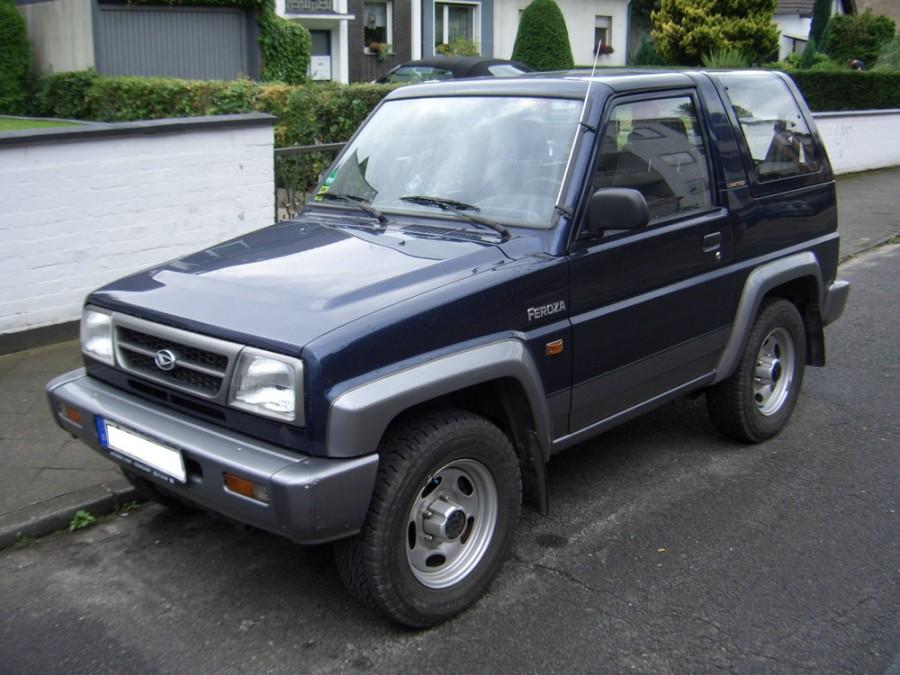 Daihatsu Feroza Hard top внедорожник, 1994–1999, 1 поколение [рестайлинг] - отзывы, фото и характеристики на Car.ru