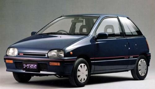 Daihatsu Leeza хетчбэк, 1986–1992, 1 поколение - отзывы, фото и характеристики на Car.ru