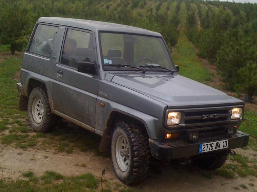 Daihatsu Rocky Hard top внедорожник, 1987–1992, 2 поколение - отзывы, фото и характеристики на Car.ru