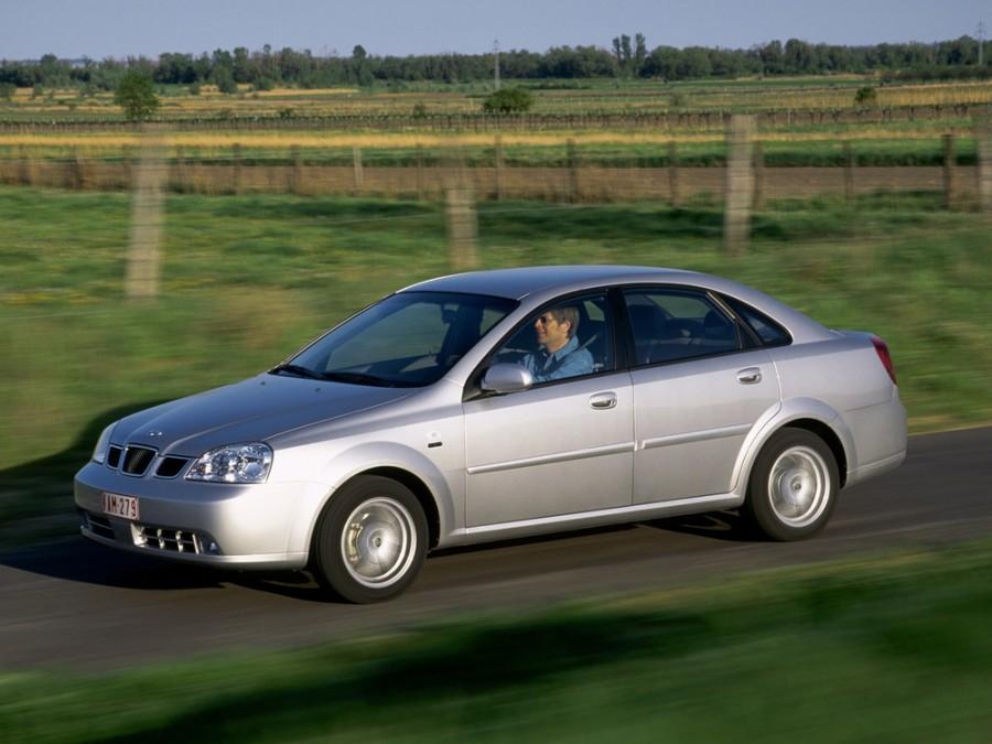 Daewoo Nubira седан, 2002–2008, J200 - отзывы, фото и характеристики на Car.ru