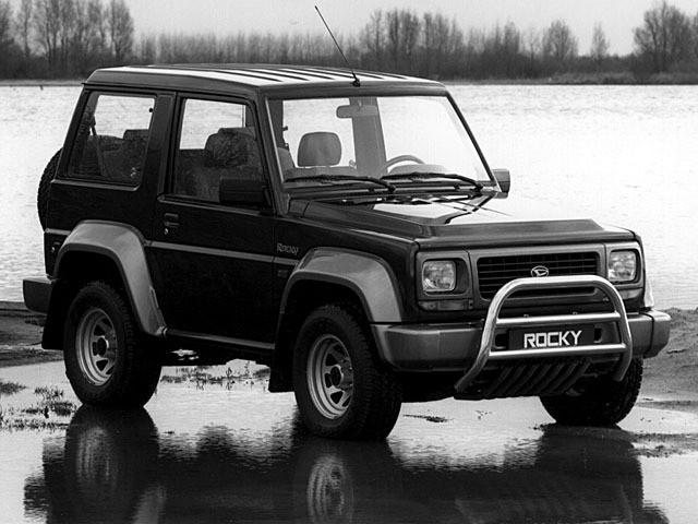 Daihatsu Rocky Hard top внедорожник, 1993–1998, 3 поколение - отзывы, фото и характеристики на Car.ru
