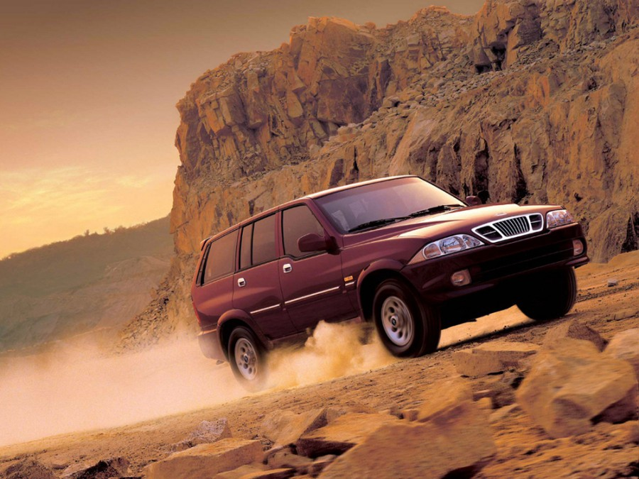 Daewoo Musso внедорожник, 1999–2002, FJ - отзывы, фото и характеристики на Car.ru