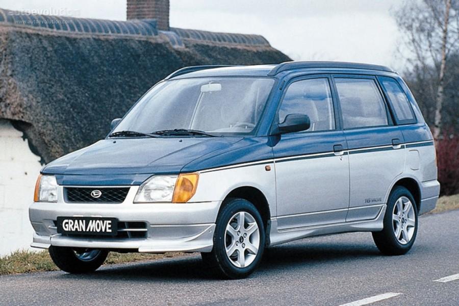 Daihatsu Gran Move минивэн, 1996–1999, 1 поколение - отзывы, фото и характеристики на Car.ru
