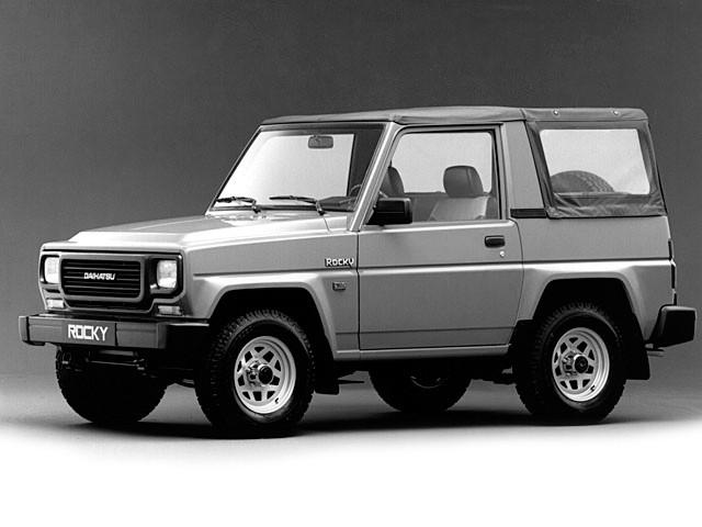 Daihatsu Rocky Soft top кабриолет, 1987–1992, 2 поколение - отзывы, фото и характеристики на Car.ru