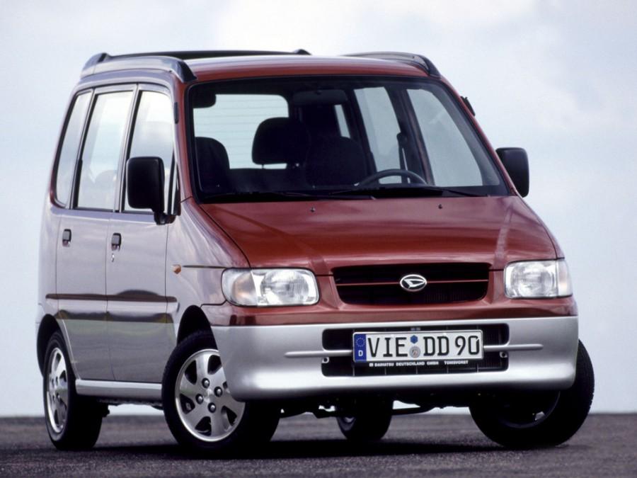 Daihatsu Move минивэн, 1998–2002, L900 - отзывы, фото и характеристики на Car.ru