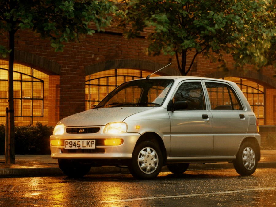 Daihatsu Cuore 3d хетчбэк, 1994–1998, L500 - отзывы, фото и характеристики на Car.ru