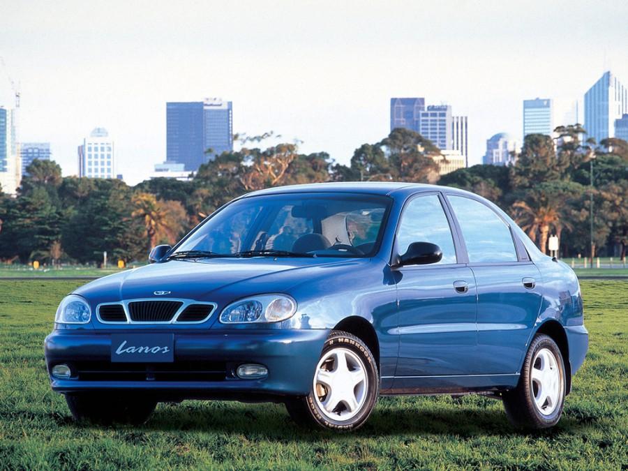 Daewoo Lanos седан, 1997–2001, T100 - отзывы, фото и характеристики на Car.ru