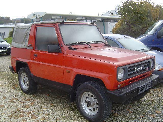 Daihatsu Rocky Soft top кабриолет, 1984–1987, 1 поколение - отзывы, фото и характеристики на Car.ru