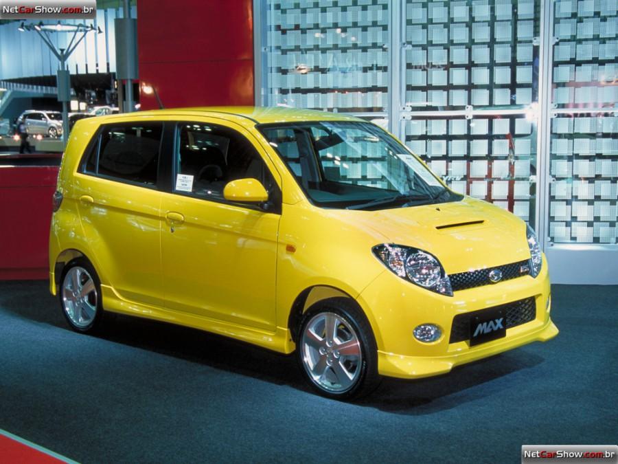 Daihatsu Max хетчбэк, 2001–2003, 1 поколение - отзывы, фото и характеристики на Car.ru