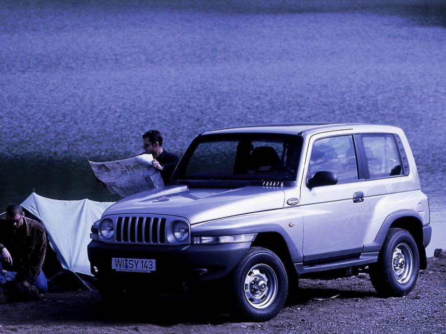 Daewoo Korando внедорожник, 1999–2001, KJ - отзывы, фото и характеристики на Car.ru